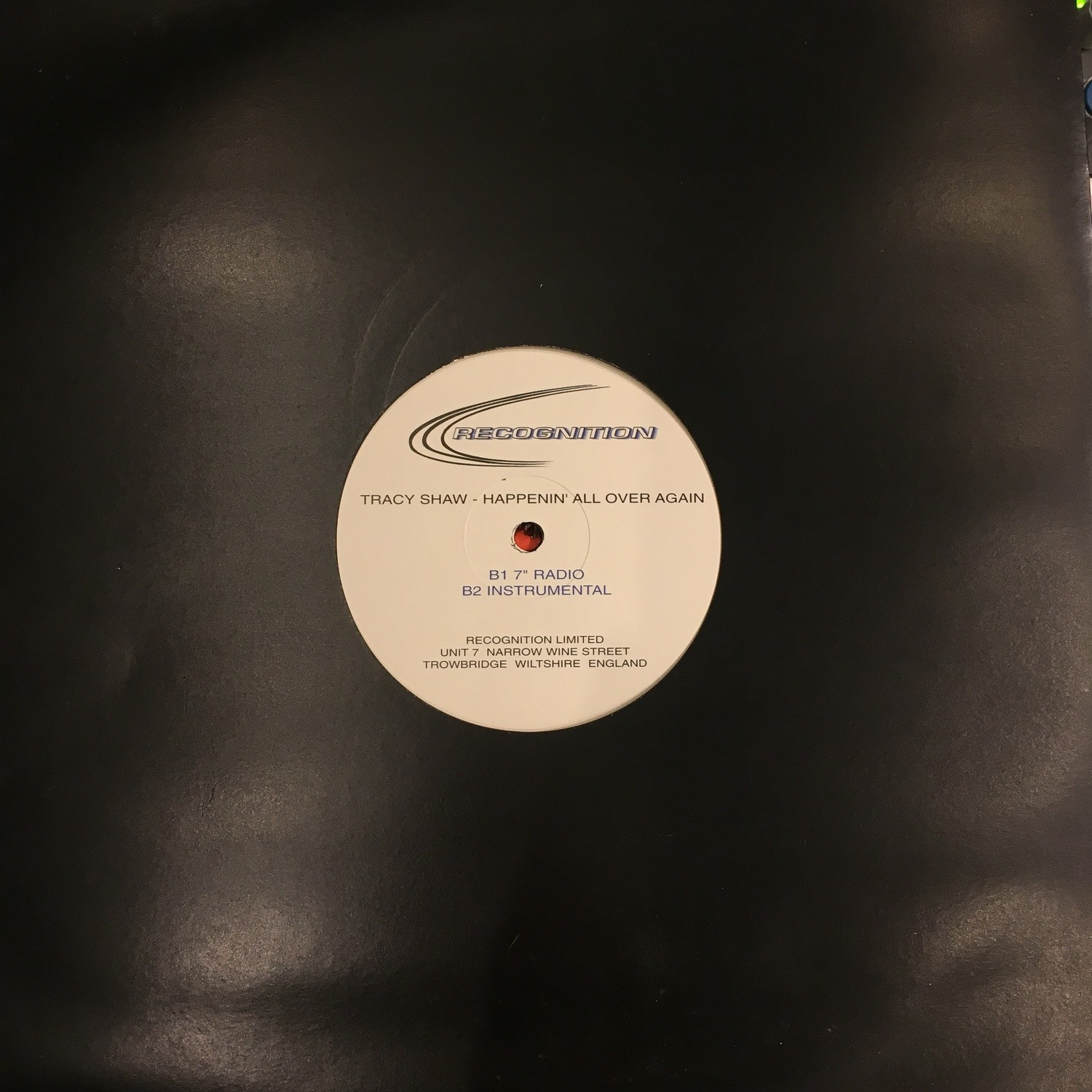 "Tracy Shaw - Happening All Over The World - Rare 12"" Club Promo Vinyl"