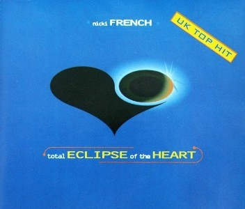 Nicki French - Total Eclipse Of The Heart - CD Promo **Signed** Copy (Blue Version)
