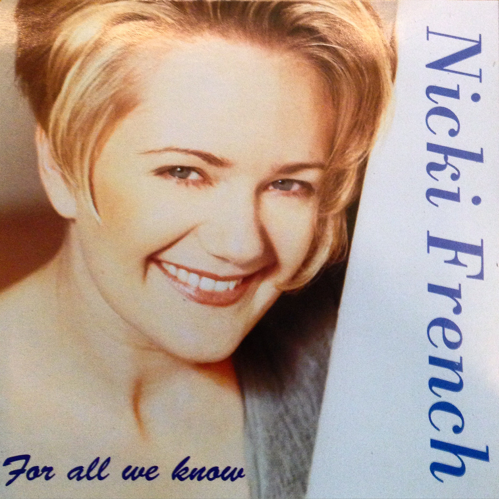 Nicki French - For All We Know - Rare CD (Blue Version)