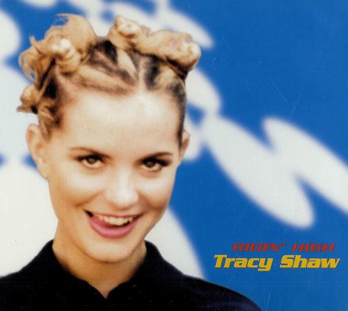 Tracy Shaw - Ridin' High - Rare CD