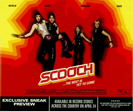 Scooch - The Best Is Yet To Come - Sneak Preview CD