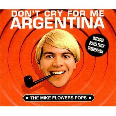 The Mike Flowers Pops - Don't Cry For Me Argentina - Rare CD - Red Edition
