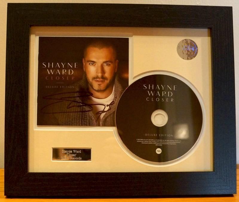 Signed CD Presentation Frame