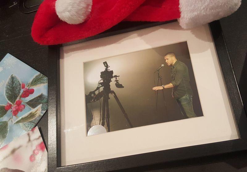 Shayne Ward - Behind The Scenes - Framed Print
