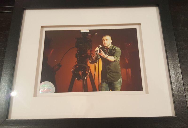 Shayne Ward - Behind The Scenes 2 - Framed Print