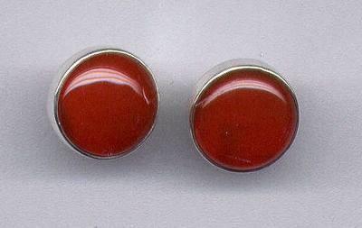 Carnelian & Vermeil Earrings