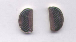 Amethyst Quartz  Earrings