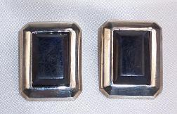 Lapis & Sterling Silver Clip-On Earrings