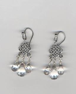 Silver & Crystal Earrings