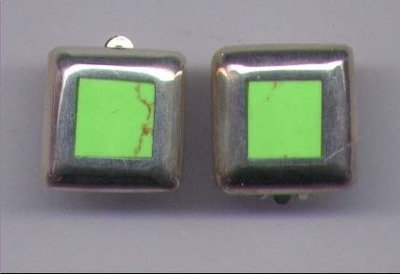 Turquoise (Chalk ) Earrings