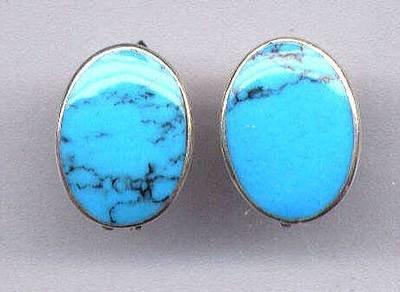 Turquoise(Chalk Earrings