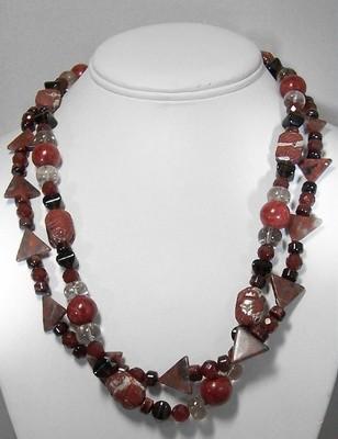 Multi stone necklace