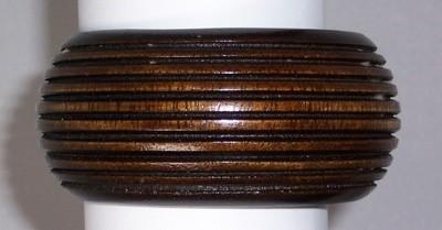 Ribbed wood cuff