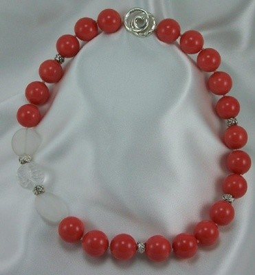 Mother Of Pearl Coral Beads