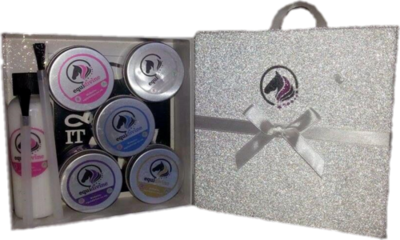 SUPER HERO Glitter Quarter Mark Gift Set