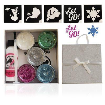 FROZEN Glitter Quarter Mark Gift Set
