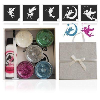 FAIRY Glitter Quarter Mark Gift Set
