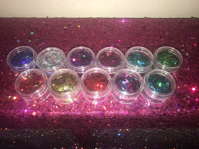 20g chunky holographic glitter