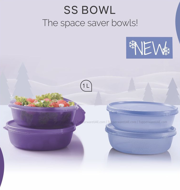 Tupperware Multipurpose SS Bowl 1Ltr Set of 4