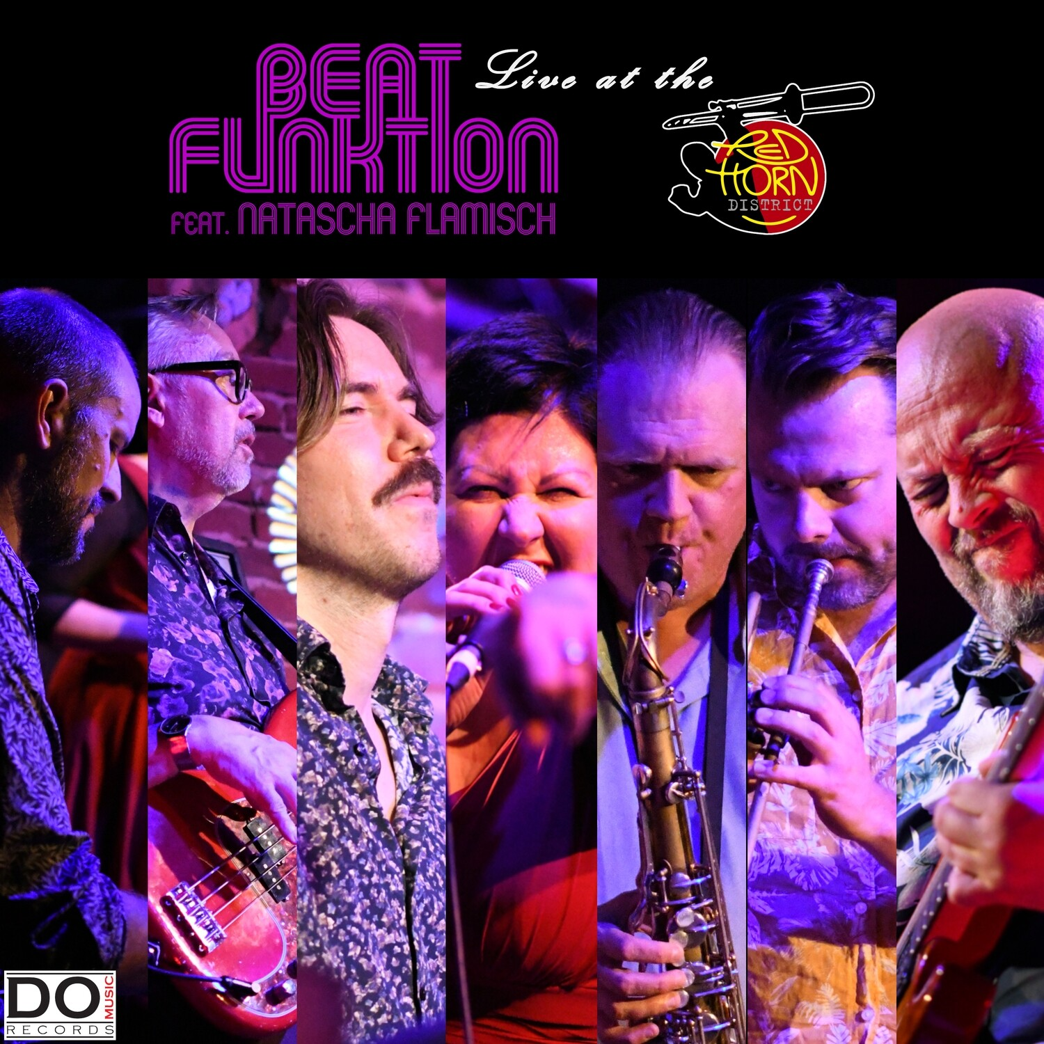 "BEAT FUNKTION ""Live At The Red Horn District"" (ft. Natascha Flamisch) [limited vinyl replica CD]"