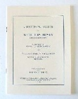 Nickerson Pamphlets:  The History of the Busby Family and Anne Busby, wife of William Nickerson, the immigrant. (25 pages)