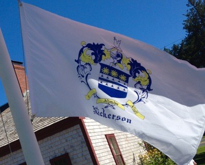 A Nickerson Coat-Of-Arms Flag!