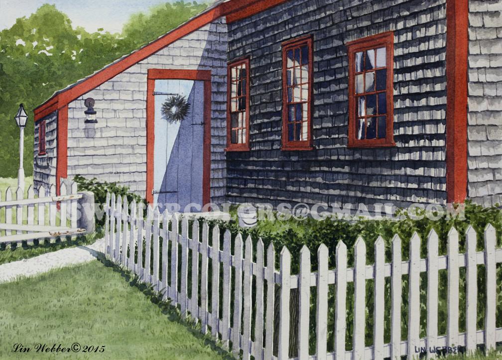 The Caleb Nickerson House Rear Yard