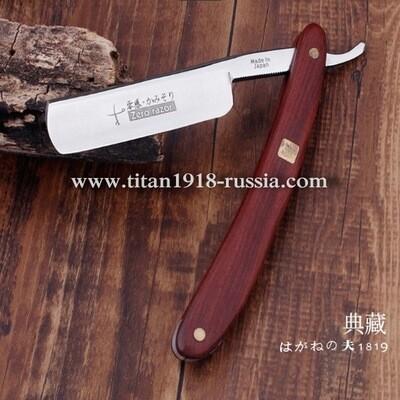 «Kamisori» (Камисори) - традиционная складная японская опасная бритва ручной работы