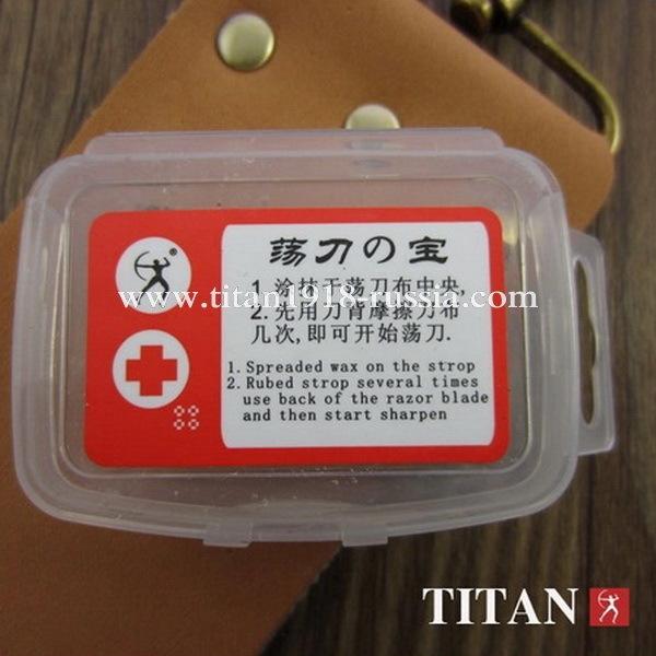Воск (паста) для правки опасной бритвы, TITAN (Япония): 1276587