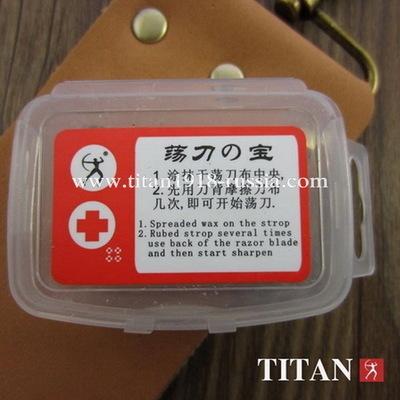 Воск (паста) для правки опасной бритвы, TITAN (Япония)