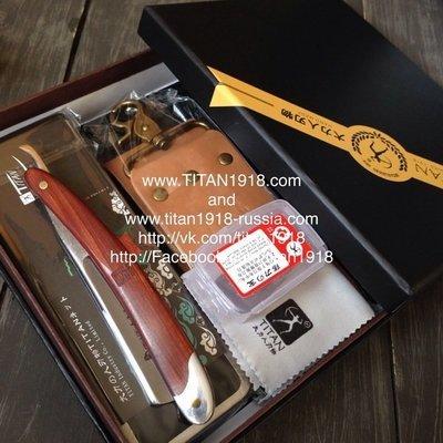 Классический бритвенный набор с опасной бритвой, TITAN (Япония): 12976929
