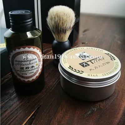 Мыло для бритья натуральное, TITAN (Япония)