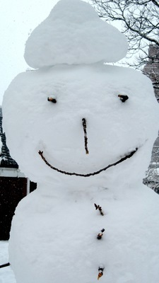 """""""The Snowmen of New York City"""" Greeting's Card Pack"""