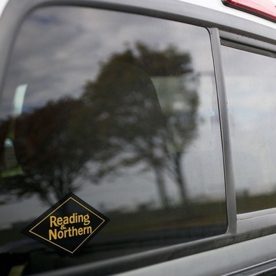 Vinyl Sticker - Reading and Northern Railroad Logo (RBMN)