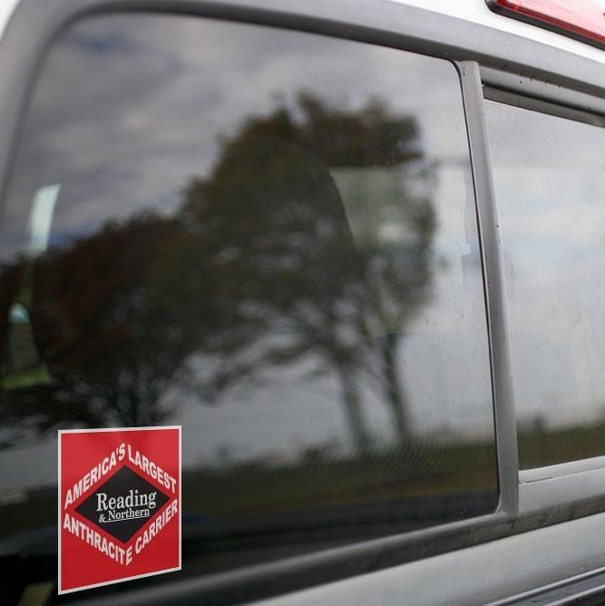 Vinyl Sticker - Reading Northern (RBMN) Black Diamond Logo
