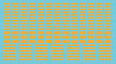 HO Scale - FRA Blocks, Non-Reflective Waterslide Decals Yellow
