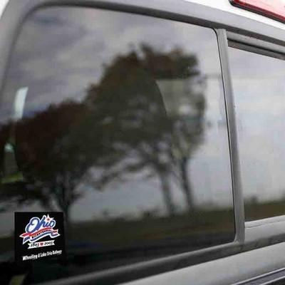 Vinyl Sticker - Wheeling and Lake Erie (WE Ohio Bicentennial) Logo