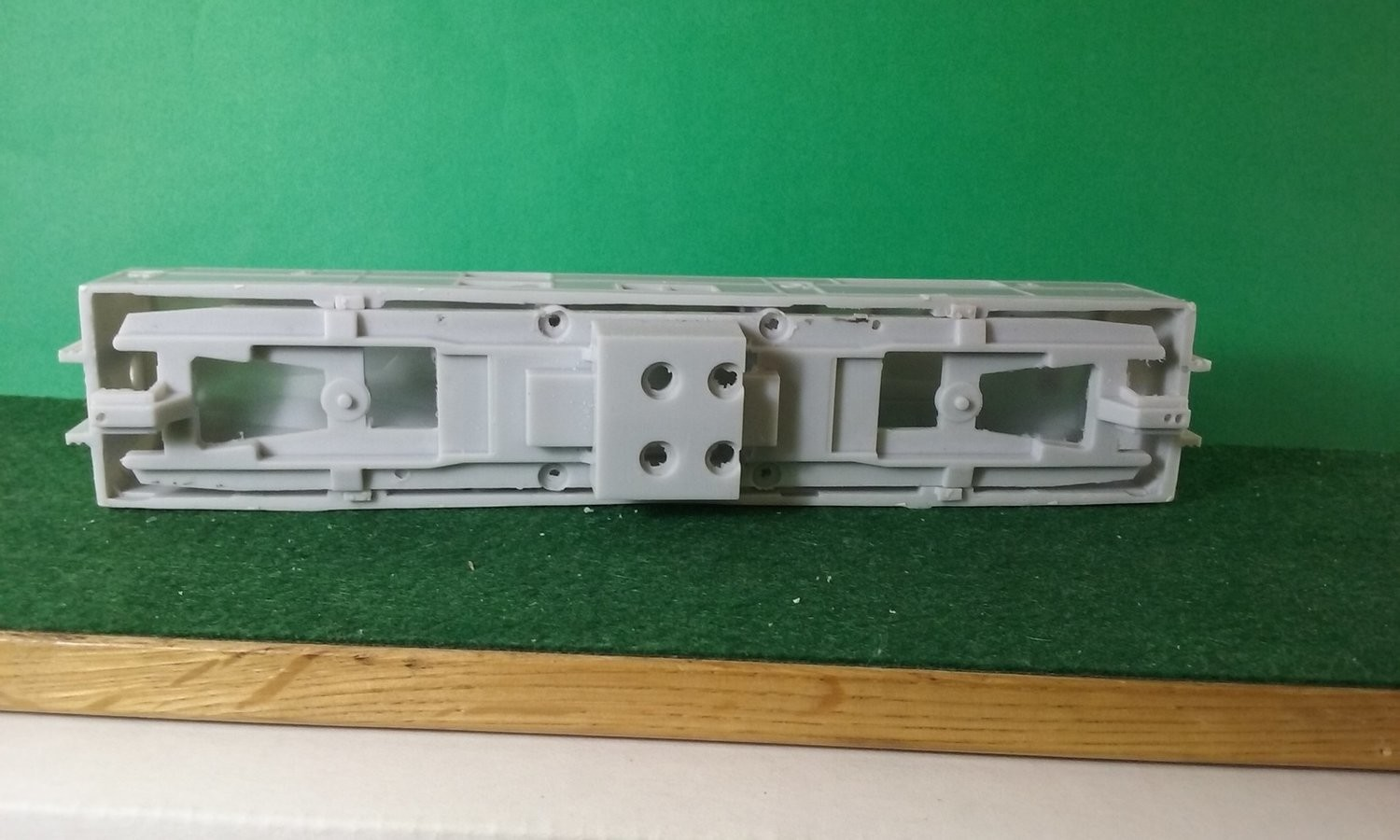 HO Scale DR-44-1500 Chassis Frame, HO Scale Trains, by Pacific Northwest Resin