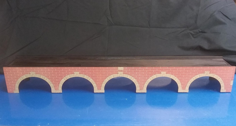 N Scale T-TRAK Stone Arch Bridge - Double