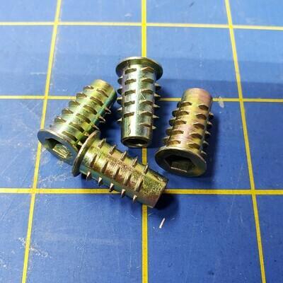 Leveling Sockets for T-Trak - Steel (Qty 4)