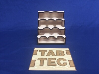 TabTec Workbench Paint Racks
