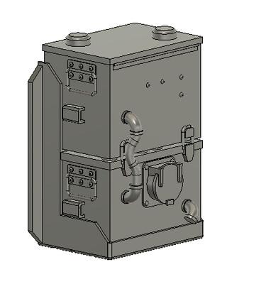 HO Scale Detail Parts - Helper Link Detail part (Qty 2)