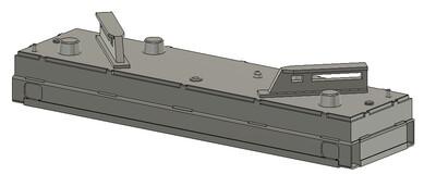 Z Scale Train Parts - Wabtec PTC Antenna (Qty 4)