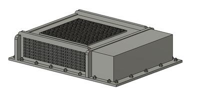 Z Scale Train Parts - Vapor Type AC Unit (Qty 4)