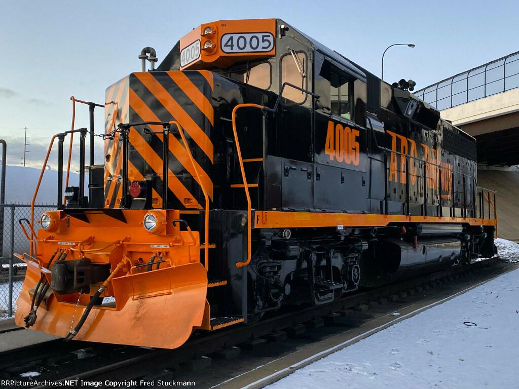 N Scale Indiana Railroad EMD Locomotive Decals INRD