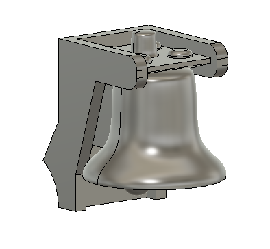 N Scale Train Parts - GP9 Hood Bell Part (Qty 2)
