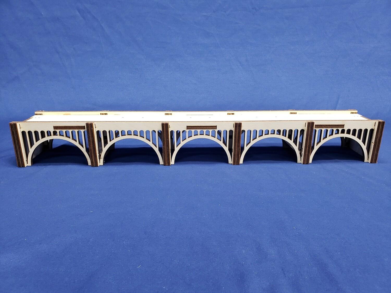 N Scale T-TRAK Module Lackawanna Arch Bridge - Double
