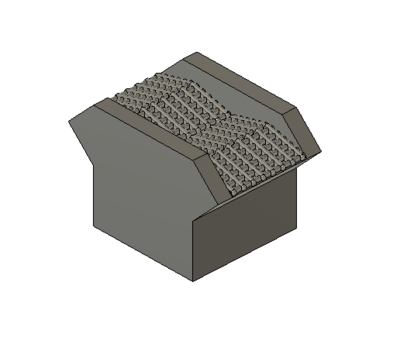 N Scale Detail Parts - Switcher Spark Arrestor (Qty 4)