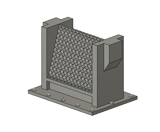 N Scale Detail Parts - Triangular Spark Arrestor (Qty 4)