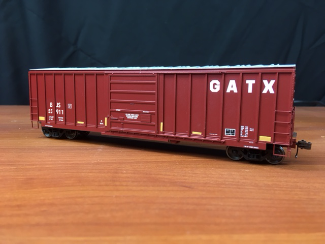 Customizable GATX Leasing Boxcar Decals